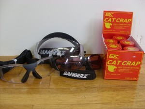 Cat Crap Anti-Fog Lens Cleaner for Field Hockey Goggles